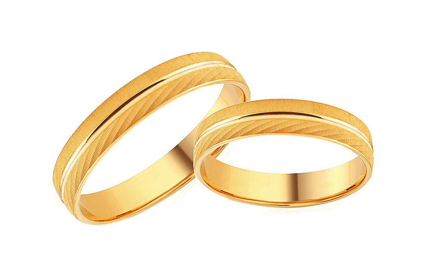4mm/0.16'' Engraved Wedding Bands - RYOB260