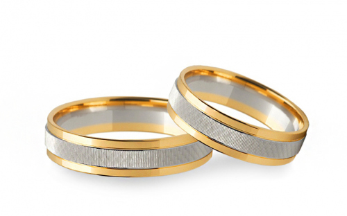4mm/0.16'' Engraved Wedding Bands - STOB229