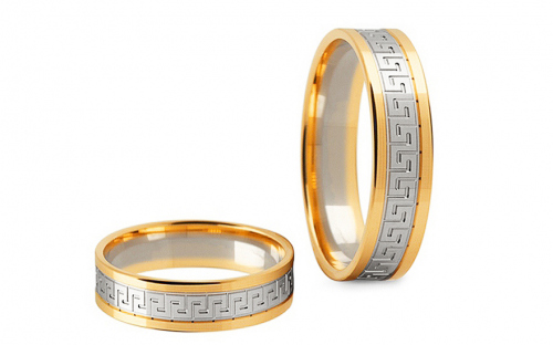 4mm/0.16'' Engraved Wedding Bands - STOB248