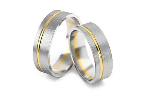 6mm/0.24'' Matte Wedding Bands - STOB139