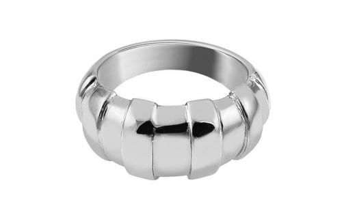 Distinctive silver ring - IS2962