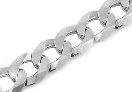 Sterling Silver bracelet Armour 11 mm