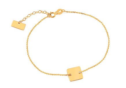 Gold bracelet chain Celebrity Square