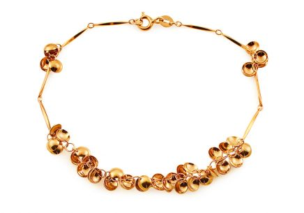 Fancy Ladies Gold Bracelet