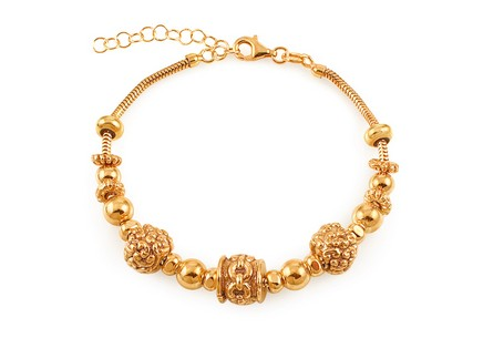 Palmyra - Exclusive silver gold-plated bracelet