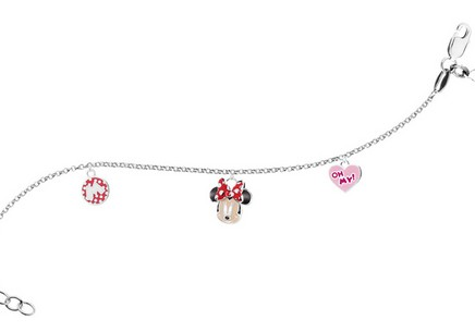 Sterling Silver bracelet for children Minnie Mouse