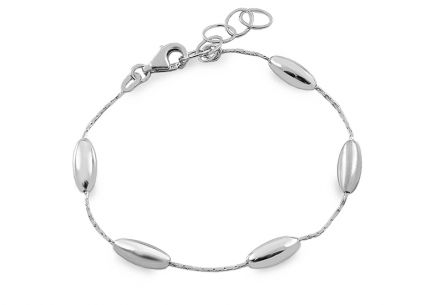 Ladies Sterling Silver Bracelet