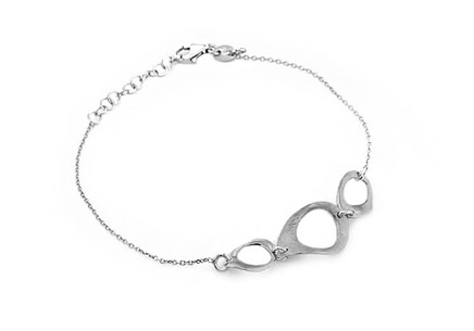 Sterling Silver Bracelet Ellipse