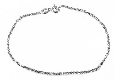 Women's sterling silver bracelet 2 mm