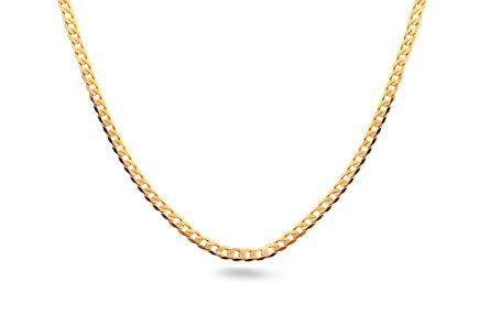 Gold full chain Pancier 3 mm