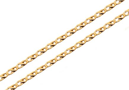Gold chain 3,5 mm
