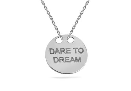 Sterling Silver chain with pendant Dream 1
