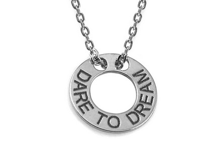 sterling Silver chain with pendant Dream