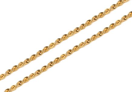 "2mm/0.079 Gold Chain ""Valis"""