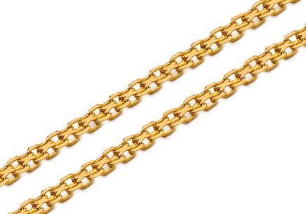 Gold chain Bismark 1.5 mm