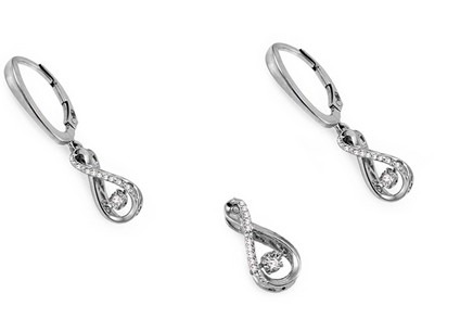 Dancing Diamonds Collection Diamond Set