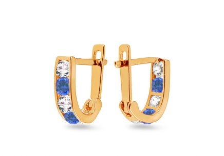 Children's Zircon Earrings
