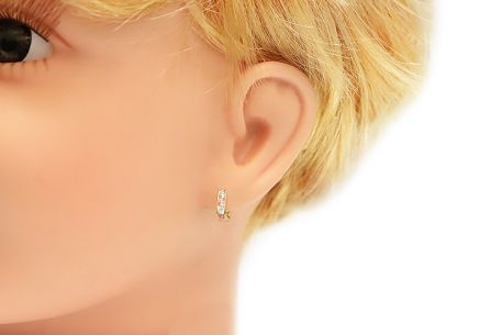 Kids Earrings with Zircons