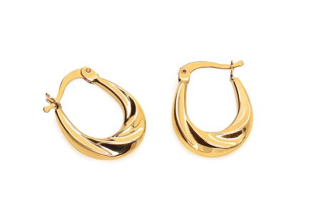 Gold Ladies Earrings