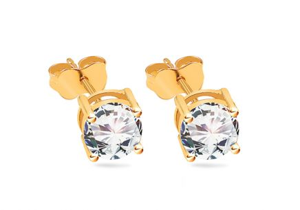 Diamond style earrings