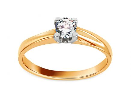 Engagement Ring Grace 4 Combined Gold