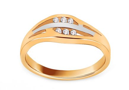 Gold Engagement Ring Barbara 1