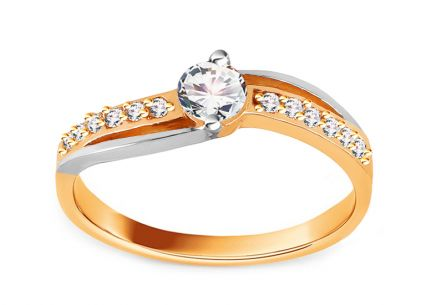 Gold Engagement Ring Charlie 2