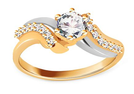 Gold Engagement Ring Isarel 13