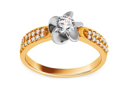 Gold Engagement Ring Isarel 15