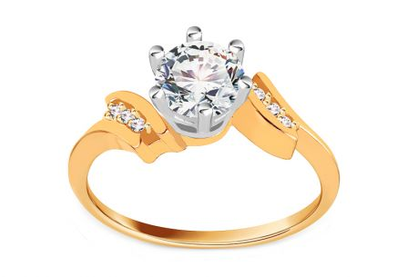 Gold Engagement Ring Isarel 19