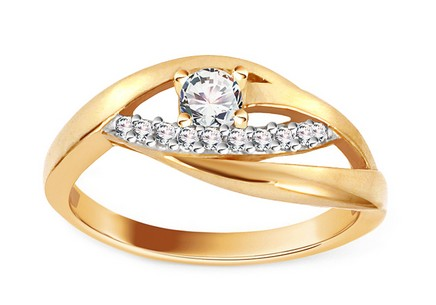 Gold Engagement Ring Isarel 9