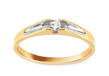 Gold Engagement Ring Pretty 14