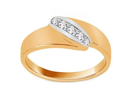 Gold Engagement Ring Pretty 3