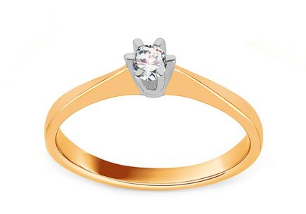 Gold Engagement Ring Pretty 4
