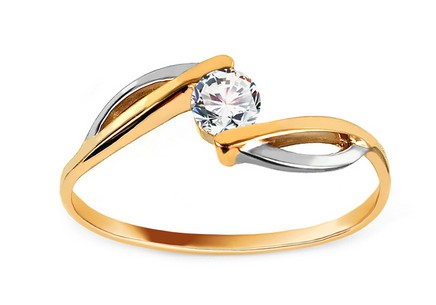 Gold Engagement Ring Ramona 1