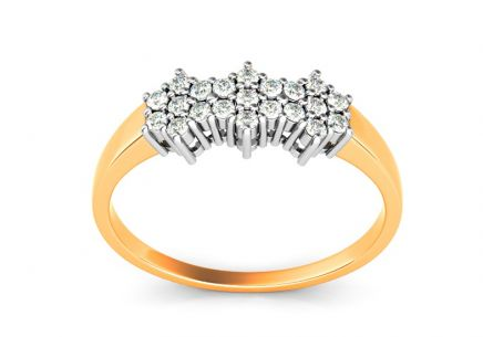 Gold Engagement Ring Ines 1