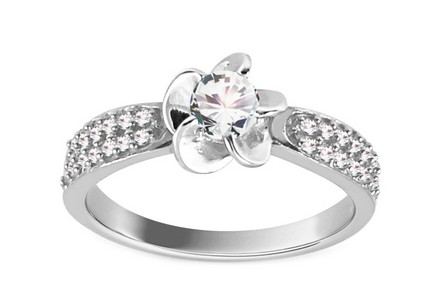 Amazing Engagement Ring Isarel 15 white