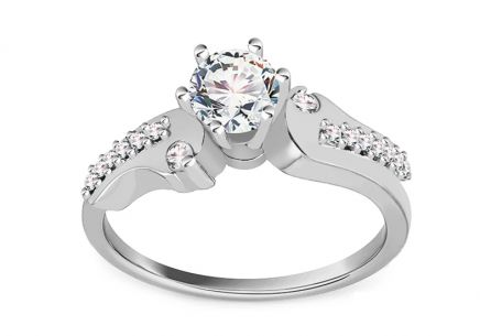 Gold Engagement Ring Isarel 28