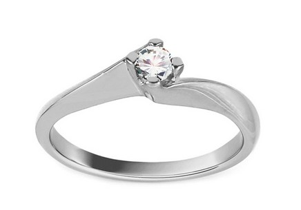 White Gold Engagement Ring Grace 6