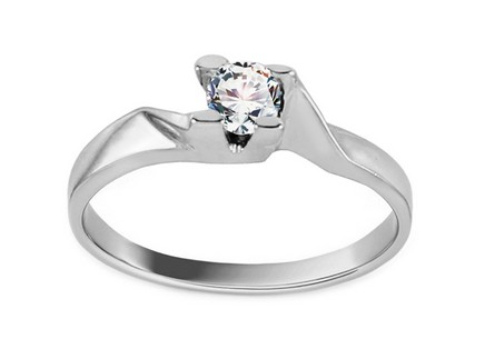 White Gold Engagement Ring Grace 9
