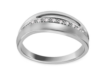 Diamond Ring 0,050 ct Deluxe Line