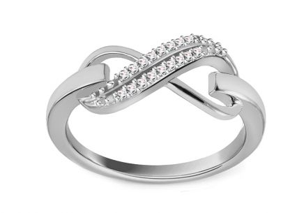Diamond Ring 0,070 ct Be Happy