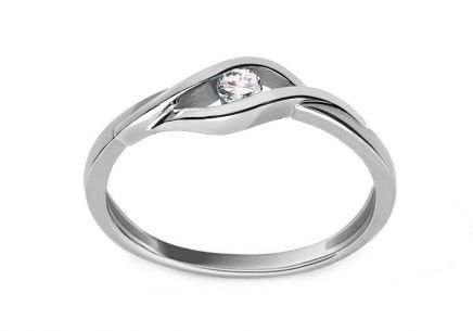 Diamond Ring 0,080 ct Suzzi white
