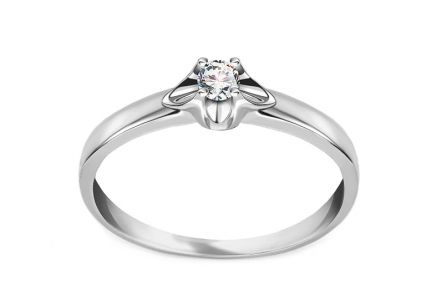 Diamond Ring Round 0,080 ct