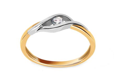 Diamond ring Suzzi 0.060 ct