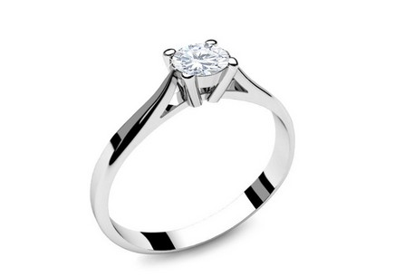 Engagement Ring with 0,150 ct Diamond Power Of Love 2