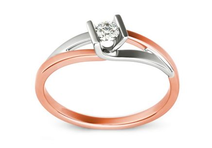 Engagement Ring with Diamond 0,080 ct Magic Beauty 2