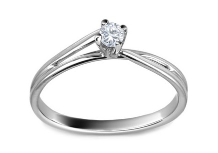 Engagement Ring with Diamond 0,100 ct Sessi