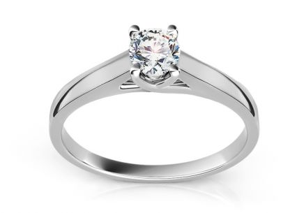 Engagement Ring with Diamond 0,200 ct Promise