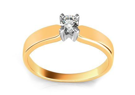 Engagement Ring with Diamond Promise 2